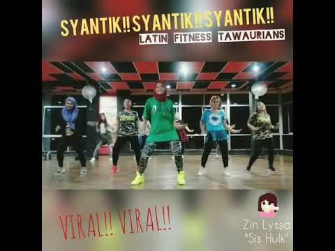 LAGI SYANTIK - Siti Badriah || Zumba by Zin Lyssa || #tawaurians #latinfitnessviral