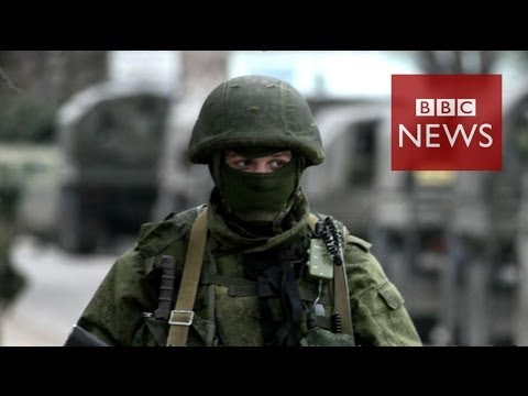 watch Military power: Russia vs Ukraine in 60 seconds - BBC News