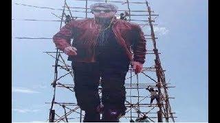 Kumbakonam Thala Fans Formed 75 Feet Ajith Cut Out