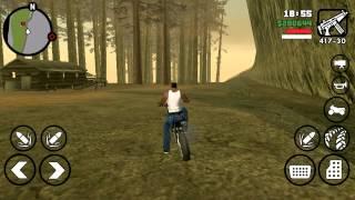 GTA San Andreas Mission #28 Badlands    Android