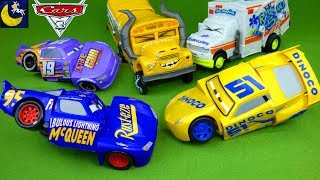 Disney Cars 3 Toys Race & Reck Fabulous Lightning McQueen Cruz Ramirez Miss Fritter Arvy Crash Toys!