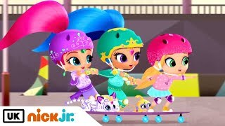 Shimmer and Shine | The Great Skate Mistake | Nick Jr. UK