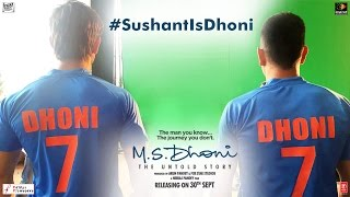 M.S Dhoni - The Untold Story | Feat. M.S. Dhoni And Sushant Singh Rajput | Sushant Is Dhoni