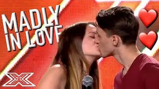 TOP 5 ROMANTIC Performances From The X Factor - COUPLES Audition | X Factor Global