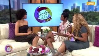 Demetria McKinney on Sister Circle TV - October 6, 2017