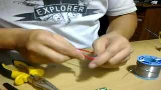 Membuat Pemancar Mini TV  Dari Komponen RF Dvd
