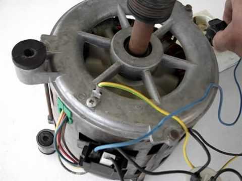 Cómo conectar un motor de lavadora II