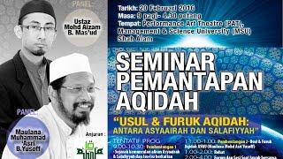 Usul dan Furuq Aqidah Ahli Sunnah Wal Jamaah