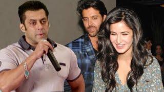 Salman Khan REACTS on Bang Bang! Official Teaser ft Hrithik Roshan & Katrina Kaif