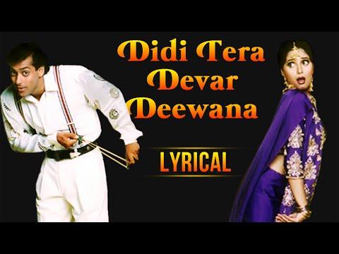 Xxx Mp4 Didi Tera Devar Deewana Full Song With Lyrics Hum Aapke Hain Koun Salman Khan Madhuri Dixit 3gp Sex