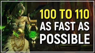 WoW Legion Leveling Guide: Patch 7.2.5 Edition - 100 to 110 In Under 4.5 Hours!