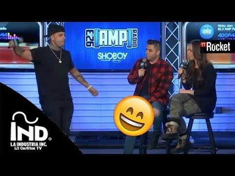 Xxx Mp4 Nicky Jam Imitando A Shakira 😂 En Entrevista 😁 Bailando Chantaje 3gp Sex