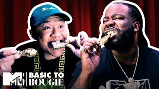 Tim & Darren Eat A Month's Worth of Rent In Wings 🍗 Basic to Bougie: Season 3 | MTV