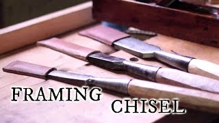 Our timber frame cabin Part 1: Preparing a framing chisel