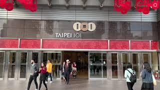 Walking around Taipei in Taiwan