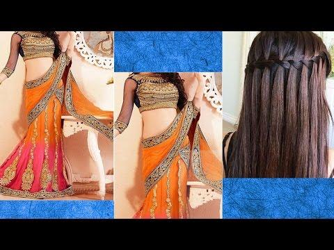 Xxx Mp4 Lehenga Style Saree Draping With Makeup And Hairstyle For Lehenga Step By Step Lehenga Makeup 3gp Sex