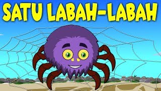 Lagu Kanak Kanak Melayu Malaysia | SATU LABAH-LABAH | Itsy Bitsy Spider in Malay
