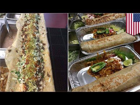 Xxx Mp4 Anaconda Burrito From California Taqueria Yarelis Is The Newest Viral Food Porn TomoNews 3gp Sex