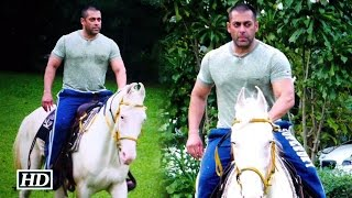 Spotted: Salman Horse Riding At His Farm House | Sultan