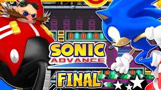 Sonic Advance GBA - Part 6 FINAL Egg Rocket & Cosmic Angel w/Sonic
