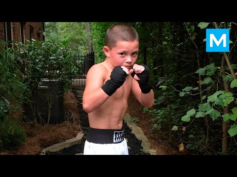 10-Year-Old Boxing Genius Javon Walton | Muscle Madness