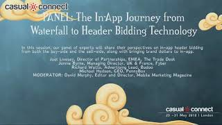 The In-App Journey from Waterfall to Header Bidding Technology | PANEL