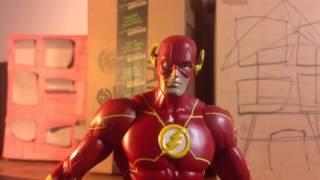 Arrow vs Flash  (Stop Motion)