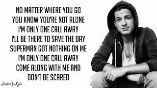 Charlie Puth - ONE CALL AWAY (Lyrics)