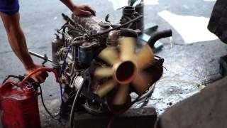 แกะกล่อง ► ISUZU เครื่อง C190 ENGINE 2.0 (2,000 cc) 67 hp OHV 8V by gaeglong