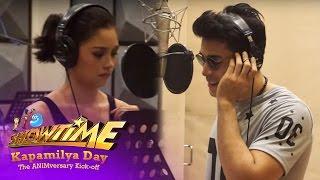 It's Showtime Kapamilya Day: Kim Chiu and Xian Lim Recording Session