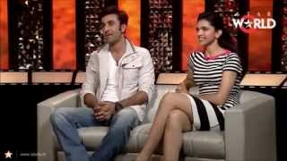 Ranbir Kapoor and Deepika Padukone's Cute Argument on The Front Row