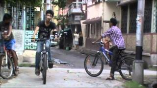 Cycle Stunts In Kolkata