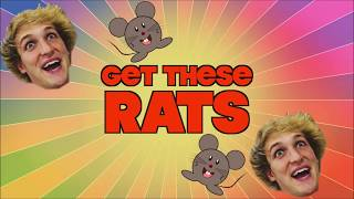 Logan Paul Tasers Two Rats In New YouTube Video