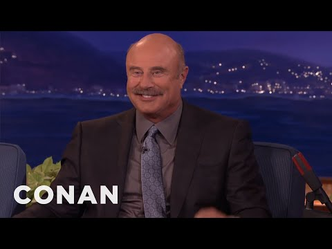Dr. Phil McGraw Doesn't Think Conan REALLY Wants To Talk To Him  - CONAN on TBS