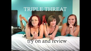 TRIPLE THREAT try on and review: CDRs and Ellie Mules