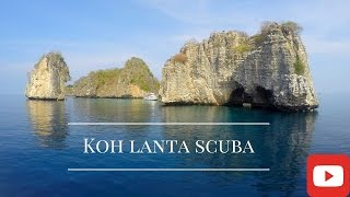 Thailand Travel, diving in Koh Lanta