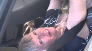 Candid Mature Soles on the Dashboard ~ INTERVIEW Part 1