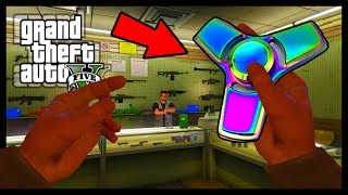 FIDGET SPINNER IN GTA 5! (YOU WON'T BELIEVE THIS)