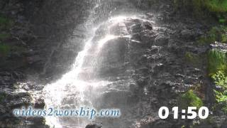 Waterfall HD 5 Minutes Countdown