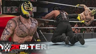 WWE 2K19 Rey Mysterio Official Entrance, Signature Move & Finishe Move!