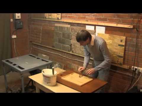 Изготовление декоративного кирпича в домашних условиях