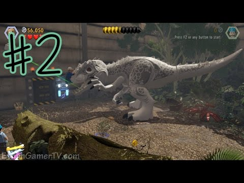 Ethan plays LEGO Jurassic World 2 KID GAMING