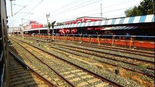 Duranta Express Train Passing World's Third Longest Railway Platform / Kharagpur Railway Station