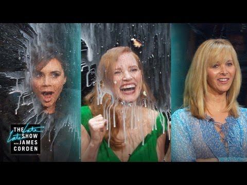 Flinch w Lisa Kudrow Jessica Chastain & Victoria Beckham