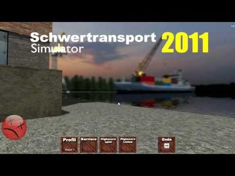 Schwertransport Simulator 2011 Gameplay HD german
