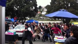 Flash mob haka whanganui