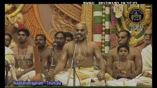 SVBC TTD - Nadaneerajanam | 01-01-17