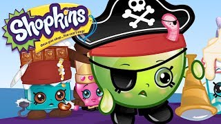 SHOPKINS - PIRATE TREASURE | Cartoons For Kids | Toys For Kids | Shopkins Cartoon