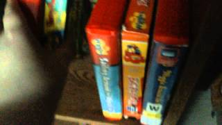 My wiggles vhs collection