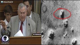 CONGRESSMAN TO NASA: Ancient Alien Cities On Mars? 7/19/17